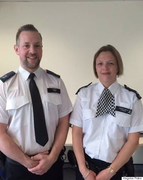pc andrew stone and pc jemma lyons