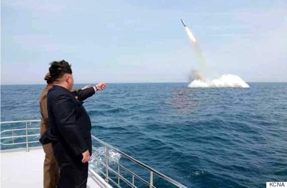 north korea kim jong un photoshopped missile pic