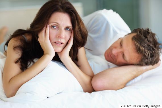 middle age couple no sex