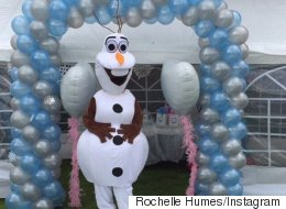Rochelle And Marvin's Frozen Birthday Party For Alaia-Mai Is Adorable