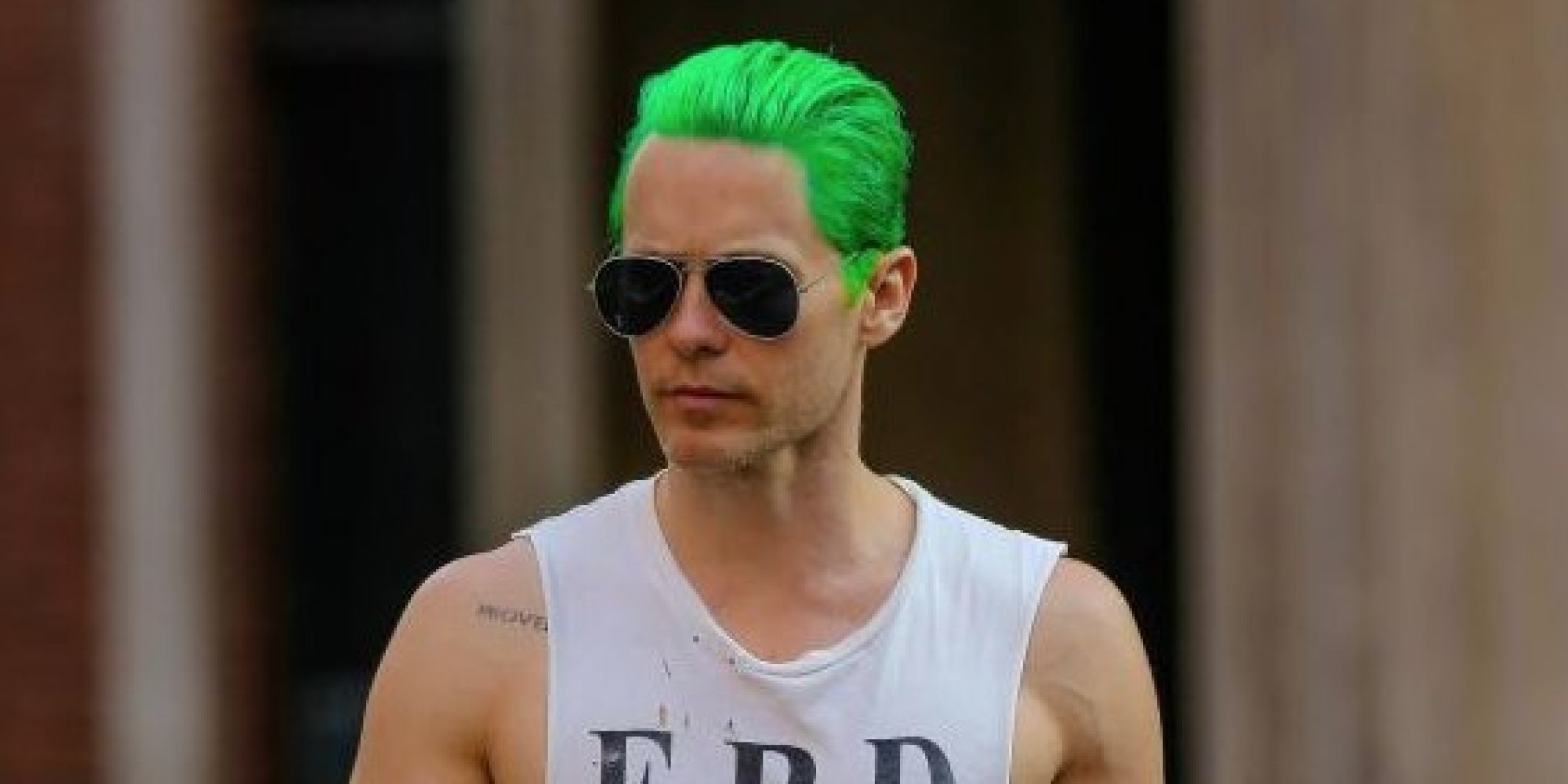 Jared Leto's Green Hair: Why 2015 Is The Year Of The Male Dye Job ...