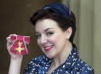 Emotional Sheridan Smith Collects Her OBE
