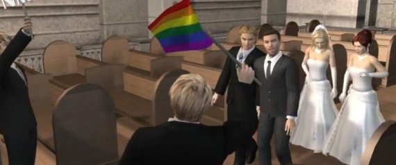 GAY MARRIAGE ANIMATED