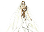 See The Wedding Dresses Top Designers Sketched For Lady Gaga