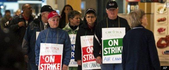 AIR CANADA STRIKE