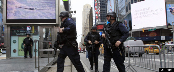 SUSPICIOUS PACKAGE TIMES SQUARE