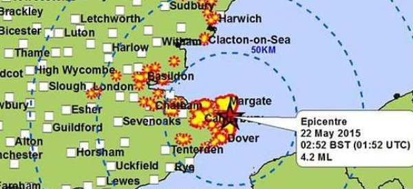 Kent Earthquake Shakes Houses And Wakes Residents