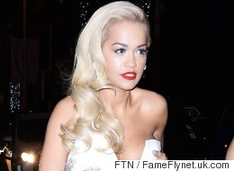 Rita Narrowly Avoids A Wardrobe Malfunction At Cannes