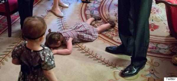 This Little Girl Is Well And Truly Through With Obama