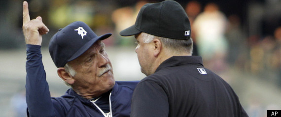 JIM LEYLAND EJECTION VIDEO