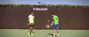 NOVAK DJOKOVIC TENNIS TRICK SHOTS