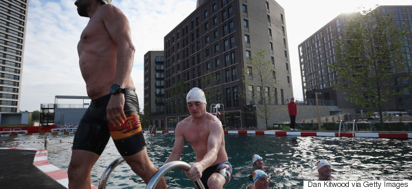 You Can Now Swim In A Pond In Central London