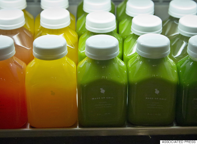 Cold Pressed Juice - Healthy Processed Foods
