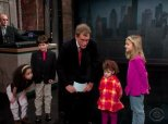 Hilarious Montage Highlights David Letterman's Best Moments With Kids