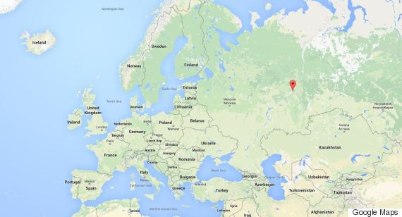 location of perm russia