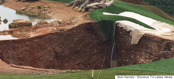 A Hole In One Just Got Way Easier At This Golf Course