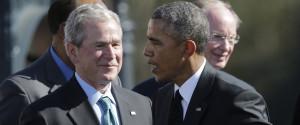 George W Bush Obama
