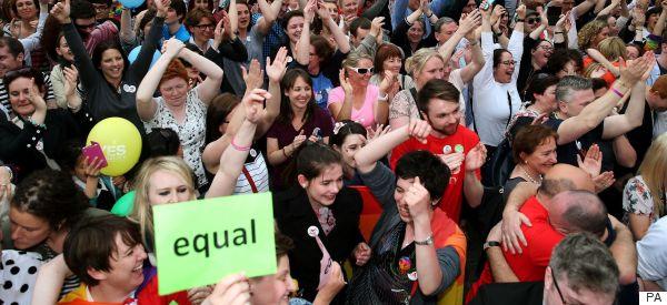 YES! Ireland Backs Gay Marriage With Huge Majority