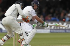 Action from the First Test at Lord's | Pic: Getty