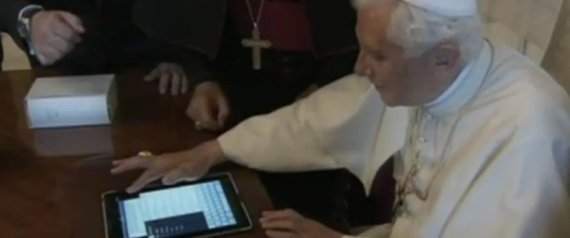 Pope First Tweet