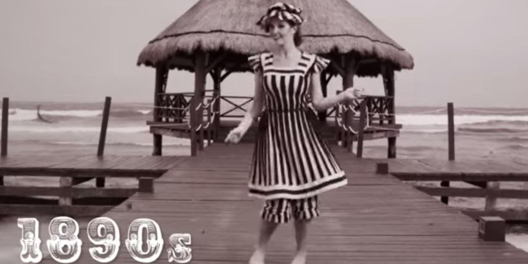 Comment le maillot de bain a volu depuis 1890 vid o - Maillot de bain annee 30 ...