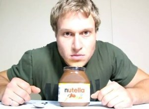 Man Jar Nutella