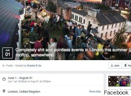 Hate London Hipsters? You'll Love This 'Completely S**t' Facebook Event