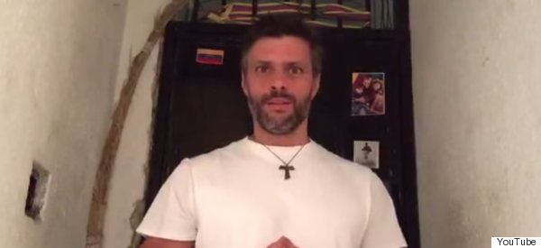 VIDEO: LEOPOLDO LÓPEZ, EN HUELGA DE HAMBRE