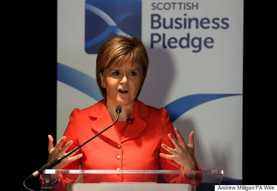 sturgeon speech
