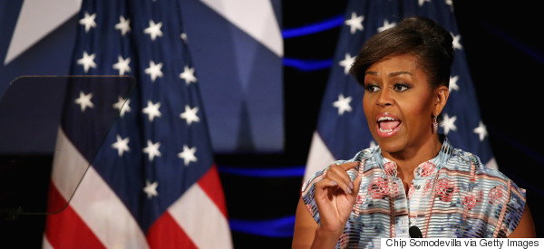 'Go Out There And Make It Happen', Michelle Obama Urges Graduates