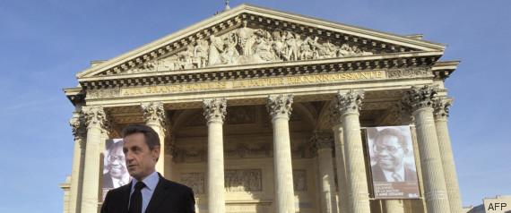 sarkozy pantheon