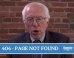 Bernie Sanders Campaign Site's