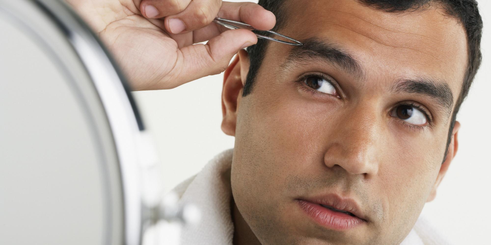 Как сделать брови густыми в домашних условиях мужчине
