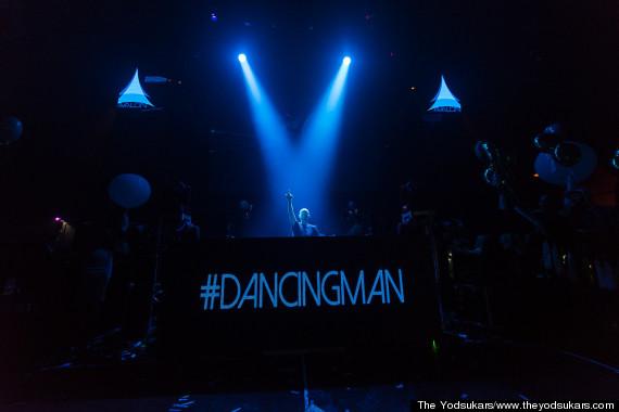 dancing man dj