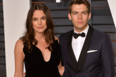 Keira Knightley and husband James Righton | Pic: Getty