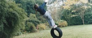 Tire Swing Girl