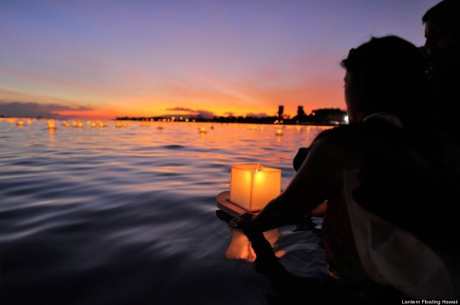hawaii celebrates memorial day with a glowing sea of memories huffpost