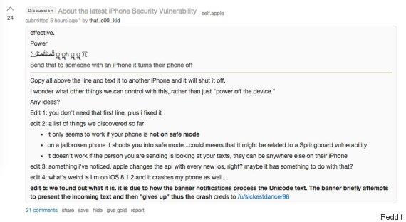 reddit iphone