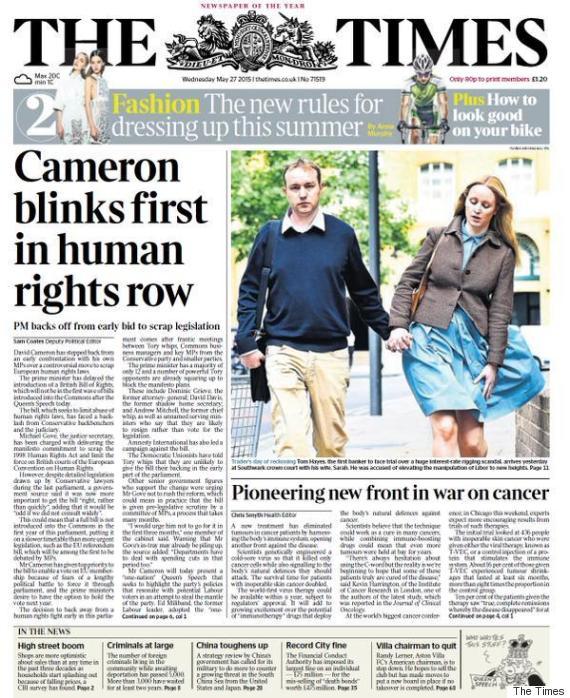 cameron human rights