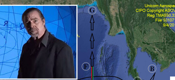 Aerospace Expert: MH370 Engaged In A 'Provocative Act' With US Airbase And I Know Where It Is Now