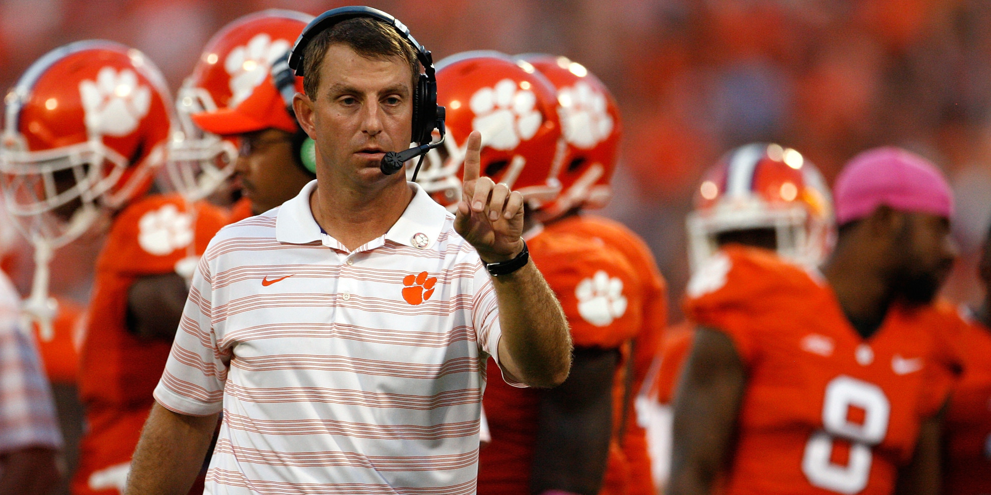 After Outcry, Clemson Football Coach Dabo Swinney Says No ...