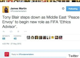 Tony Blair Resigns As Middle East Peace Envoy: The Funniest Twitter Reactions