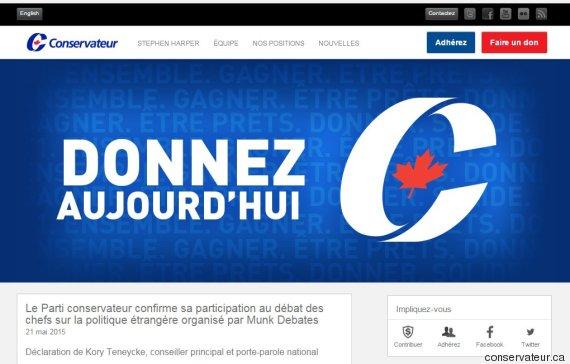 site parti conservateur