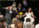 This Creative Bride And Groom Had A Bunch Of Puppets Officiate Their Wedding