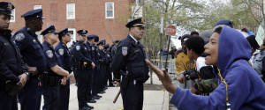 Baltimore Protest Freddie Gray Police