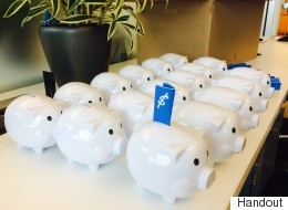 Someone's Handing Out Piggy Banks Full Of Cash In Vancouver
