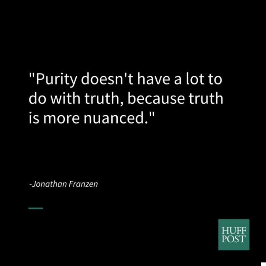 franzen purity