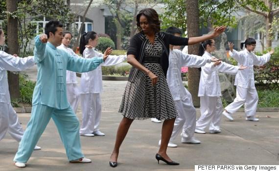 michelle obama tai chi
