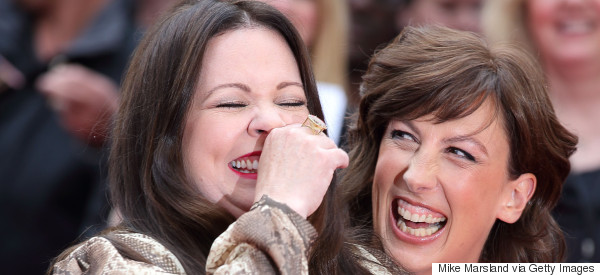 What's Melissa And Miranda Finding So Funny?
