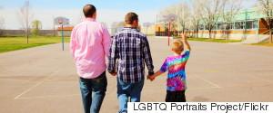 GAY COUPLE CHILD